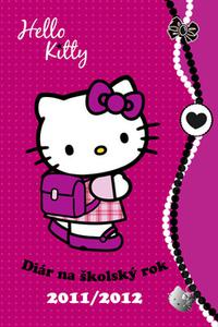 Hello Kitty - Diár na školský rok 2011/2012